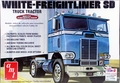 AMT White Freightliner SD Single-Drive Cabover Tractor