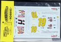 """Dick Trickle 1996 Thunderbird """"Healthsource"""" #19, Tristar Motorsports (red car w/yellow nose)"""