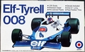 Entex Elf-Tyrell 008, Formula 1, 1/25 Scale