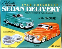 Galaxie Limited 1946, 1947 or 1948 Chevy Sedan Delivery (New Old Stock)