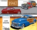 Galaxie Limited 1947 Chevy Aerosedan or Country Club Aerosedan – Includes 1946 and 1948 Parts