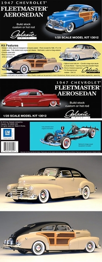 Galaxie Limited 1947 Chevy Aerosedan or Country Club Aerosedan - Includes 1946 and 1948 Parts