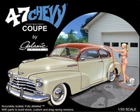 Galaxie Limited 1947 Chevy Coupe - Includes 1946 and 1948 Parts