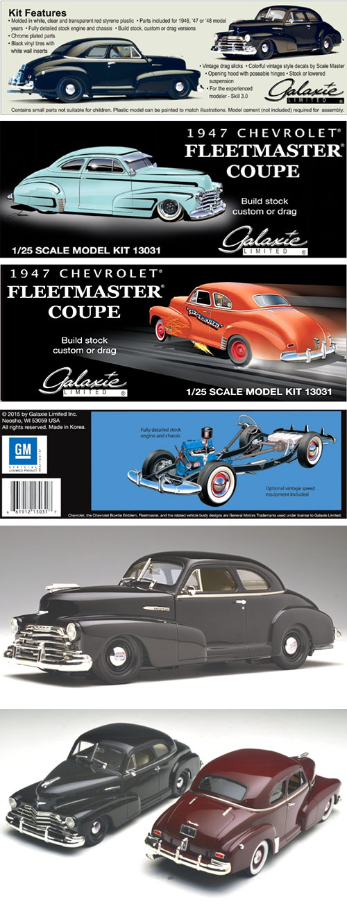 Galaxie Limited 1947 Chevy Coupe – Includes 1946 and 1948 Parts