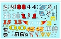 Gofer Vintage Modified Racing Decal Sheet