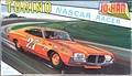 """Jo-Han 1972 Ford Torino Nascar Racer, Early Issue with """"Nascar"""" on Box"""