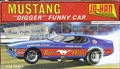 "Jo-Han ""Boss Hoss"" 1971 Mustang Funny Car with Mickey Thompson Slixx Decals"