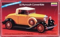 Lindberg 1/32 Scale 1932 Plymouth Convertible