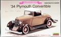 Lindberg 1/32 Scale 1934 Plymouth Convertible
