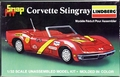 Lindberg 1/32 Scale 1971 Corvette Stingray Convertible, Molded in Green
