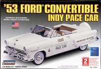 Lindberg 1953 Ford Convertible Indy 500 Pace Car with Continental Kit