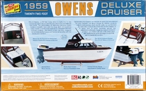 Lindberg 1959 Owens Deluxe Cruiser Twin Outboard Powerboat