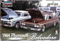 Lindberg 1964 Plymouth Belvedere Hardtop, 426 or Slant Six Engine