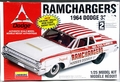 "Lindberg ""Ramchargers"" 1964 Dodge 330 2 Door Sedan Super Stock"