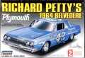 Lindberg Richard Petty #43 1964 Plymouth Belvedere