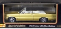 Maisto 1965 Pontiac GTO Convertible, Hurst Edition, Metallic Gold with White and Black Interior