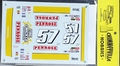 """Mike Cope 1995 Monte Carlo """"Penrose"""" #57, KEL Racing (overall red car)"""