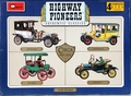 "Minicraft Highway Pioneers 1/32 Scale 1907 Sears, 1907 Renault, 1910 Ford Model ""T,"" 1910 Cadillac"