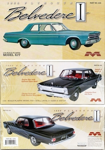 Moebius 1965 Plymouth Belvedere I 2-Door Sedan