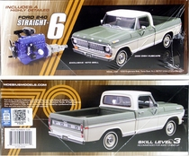 Moebius 1970 Ford F-100 Custom Cab Shortbed Pickup with 240 6-Cylinder Stick