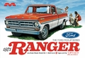 Moebius 1971 Ford XLT Ranger Longbed Pickup with 390 V-8 Automatic