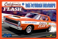 "Moebius Butch Leal ""California Flash"" 1965 Plymouth Belvedere 2 Door Sedan A990 Hemi Super Stock"