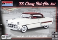 Monogram 1953 Chevy Bel Air Hardtop, 3 in 1, Stock, Lowrider or Custom