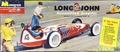 "Monogram 1959 ""Long John"" Slingshot Streamlined Dragster"