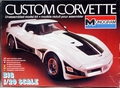 Monogram 1981 Corvette Coupe Custom, 1/20th Scale