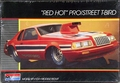"Monogram 1984 T-Bird Pro Street ""Red Hot"" with Gold Plated Chrome"
