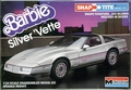 "Monogram ""Barbie"" Silver Chevy 'Vette, Snaps Together"
