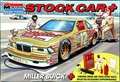 """Monogram Bobby Hillin #8, Mike Alexander #12 or Dick Tickle #84 """"Miller"""" 1989/90 Buick with Driver and Pit Accessories"""