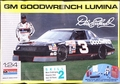 """Monogram Dale Earnhardt #3 """"Goodwrench"""" 1990 Lumina with Driver and Pit Accessories"""