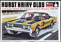 "Monogram ""Hurst Hairy Olds"" 1967 Cutlass Exhibition Funny Car"
