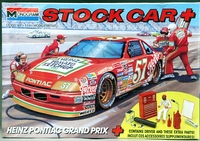 "Monogram Hut Stricklin #57 ""Heinz"" 1990 Pontiac with Driver and Pit Accessories"