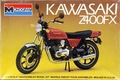 Monogram Kawasaki Z400FX Motorcycle, 1/15th Scale