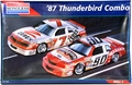 "Monogram Ken Schrader #90 ""Red Baron"" 1987 T-Bird and Alan Kulwicki #97 ""Zerex"" 1987 T-Bird Set"