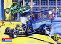 "Monogram ""Paddy Wagon"" Police Rod with 2 Pre-Painted Resin Cop Figures"