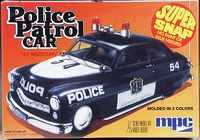 "MPC 1949 Mercury Police Patrol Car ""Super Snap"""