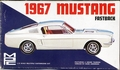 MPC 1967 Mustang Fastback, Stock, Custom, Budd Anderson Grand Touring, or Drag