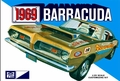 MPC 1969 Plymouth Barracuda Fastback, Stock, Custom or Drag