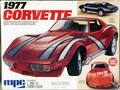 MPC 1977 Corvette Stingray Coupe, Stock, Custom, or Street Freak Custom, 1/20th Scale