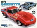 MPC 1978 Corvette Stingray Coupe, Stock or Street Machine, 1/20th Scale