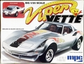"MPC 1979 Corvette Stingray Coupe, Stock or ""Viper Vette"" Street Machine, 1/20th Scale"