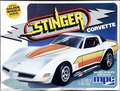 "MPC 1981 Corvette Stingray Coupe, Stock or ""The Stinger"" Custom, 1/20th Scale"