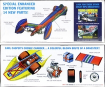 """MPC Carl Casper """"Cosmic Charger"""" Fuel Dragster"""