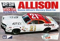 "MPC Donnie Allison #21 ""Purolator"" NASCAR Mercury Cyclone"