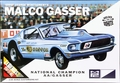 "MPC ""Ohio George"" Montgomery AA/Gas Supercharged 1967 Mustang 2+2 Fastback ""Malco Gasser"" - White"