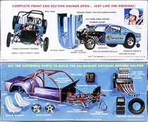 """MPC """"Ohio George"""" Montgomery AA/Gas Supercharged 1967 Mustang 2+2 Fastback """"Malco Gasser"""" - White"""