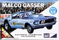 "MPC ""Ohio George"" Montgomery AA/Gas Supercharged 1967 Mustang 2+2 Fastback ""Malco Gasser"" - Blue"